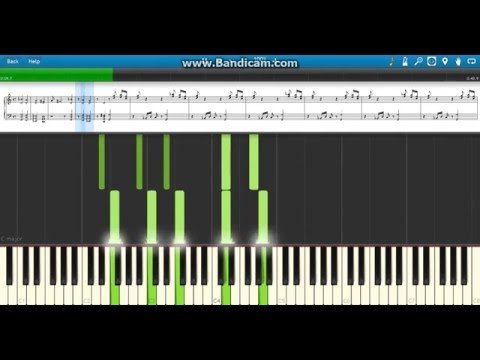 """The Time is Now"" John Cena WWE Theme - Piano (Synthesia)"