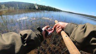 На рыбалку за окунем и не самой умной щукой perch Pike fishing Окунь Щука Рыбалка Север