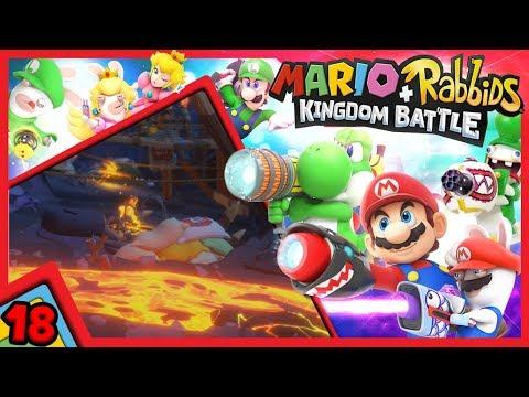 #18 INIZIAMO IL MONDO 4! E sono subito nei guai.   Mario + Rabbids: Kingdom Battle ITA