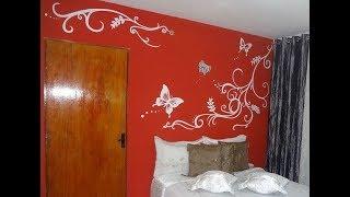 Pintura artistica em parede