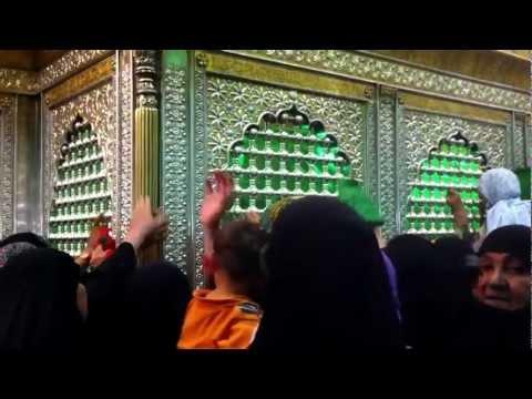 Women at Imam Husayn's Shrine