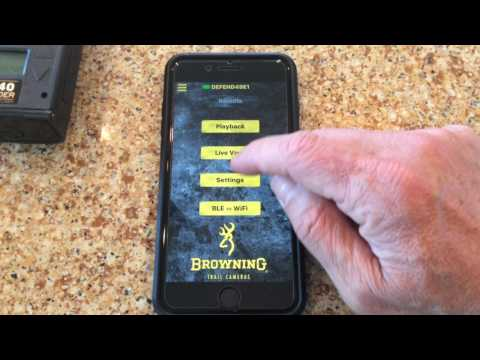 """Browning Trail Cameras: Free Defender App """"How To"""" Video"""
