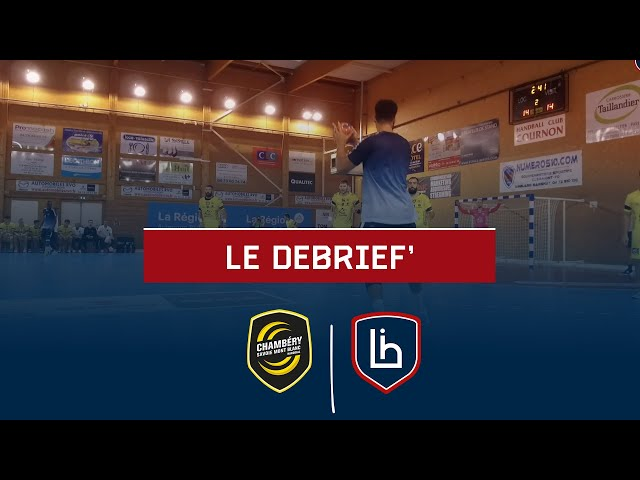 #WARMUP : Chambery - Limoges le débrief'