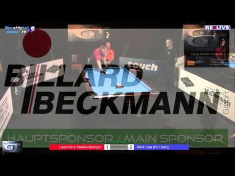 German Tour Finale 2015/2016 Geronimo Weißenberger vs Nick van den Berg powered by REELIVE