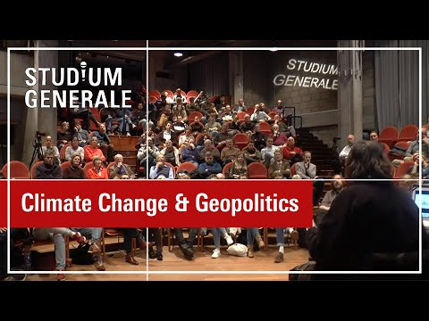 Studium Generale Climate change and geopolitics Coby v d  Linde