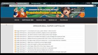 Dragon Ball Super 99 Sub Español  Subtitulado