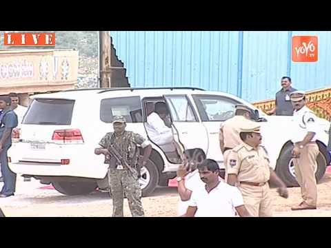 CM KCR Entry in Yadadri | Grand Welcome | Telangana CM KCR Convoy in Yadagirigutta | YOYO TV Channel