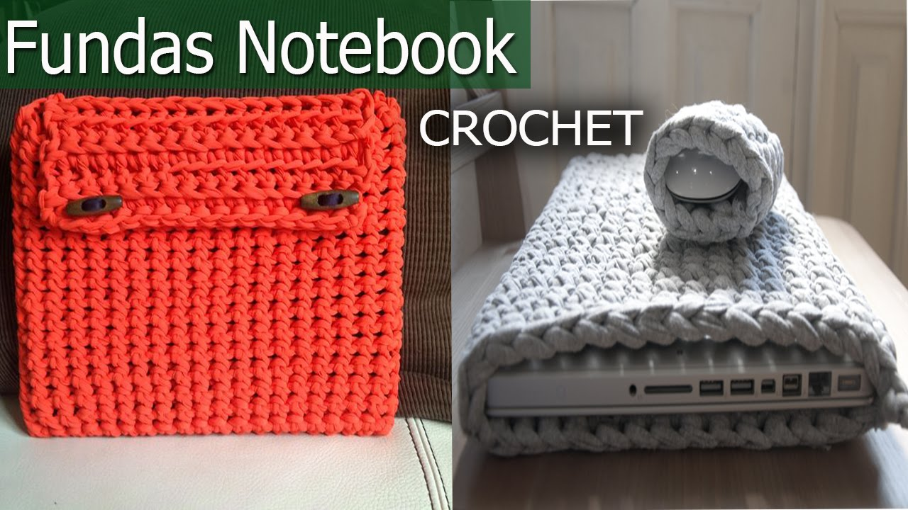 Fundas notebook netbook tejidas a crochet imagenes y dise os youtube - Fundas para pc portatil ...