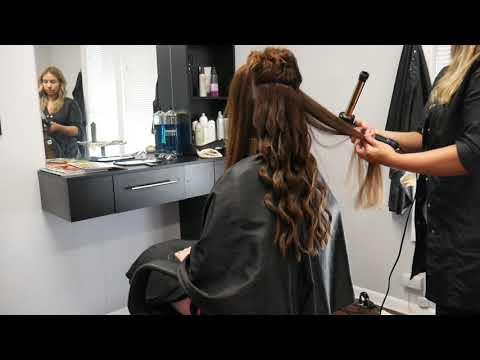ASMR Relaxing Hairstyling & Haircut!