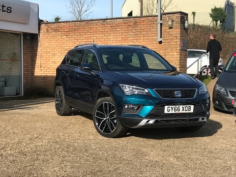Bartletts SEAT offer this Ateca 2.0 TDI (190ps) Xcellence 4Drive DSG in Hastings