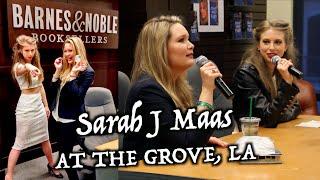 Q&A WITH SARAH J MAAS AT THE GROVE