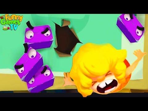 Just Trap Игра мультик про монстров приложение андройд мультик для мальчиков и девочек веселое видео