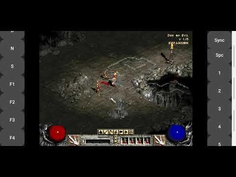 안드로이드ExaGear RPG (디아블로2) 0화