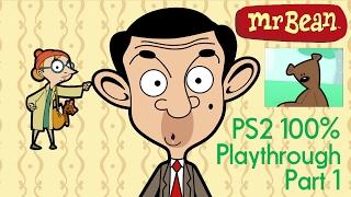 Mr Bean PS2 100% Playthrough Part 1