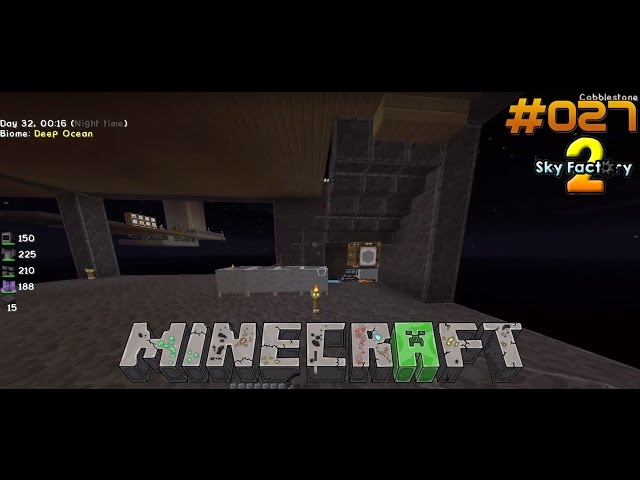 Let's Play Minecraft Sky-Factory 2 | Cobble-Generator zieht um | Folge #027