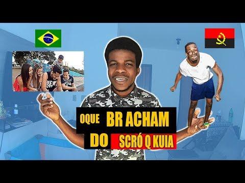OQUE OS BRASILEIROS ACHAM DO SCRÓ Q KUIA VOU PARTIR CAMA