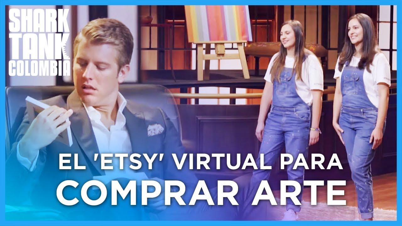El 'Etsy' virtual para comprar arte en Colombia | Shark Tank Colombia