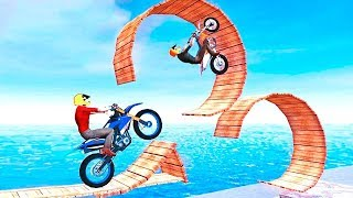 Bike Stunt Master (by Timuz Games) Android Games 2018 Gameplay   Friction Games