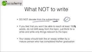 IAS Preparation to Crack the UPSC Examinations : Part 5 - Essay Writing Essentials