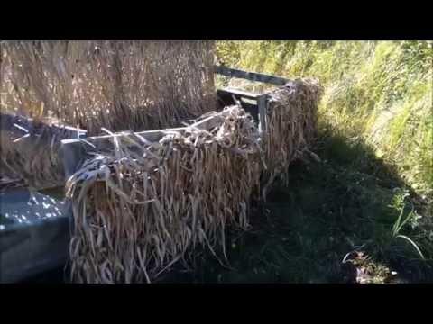 Floating Duck Blind Youtube