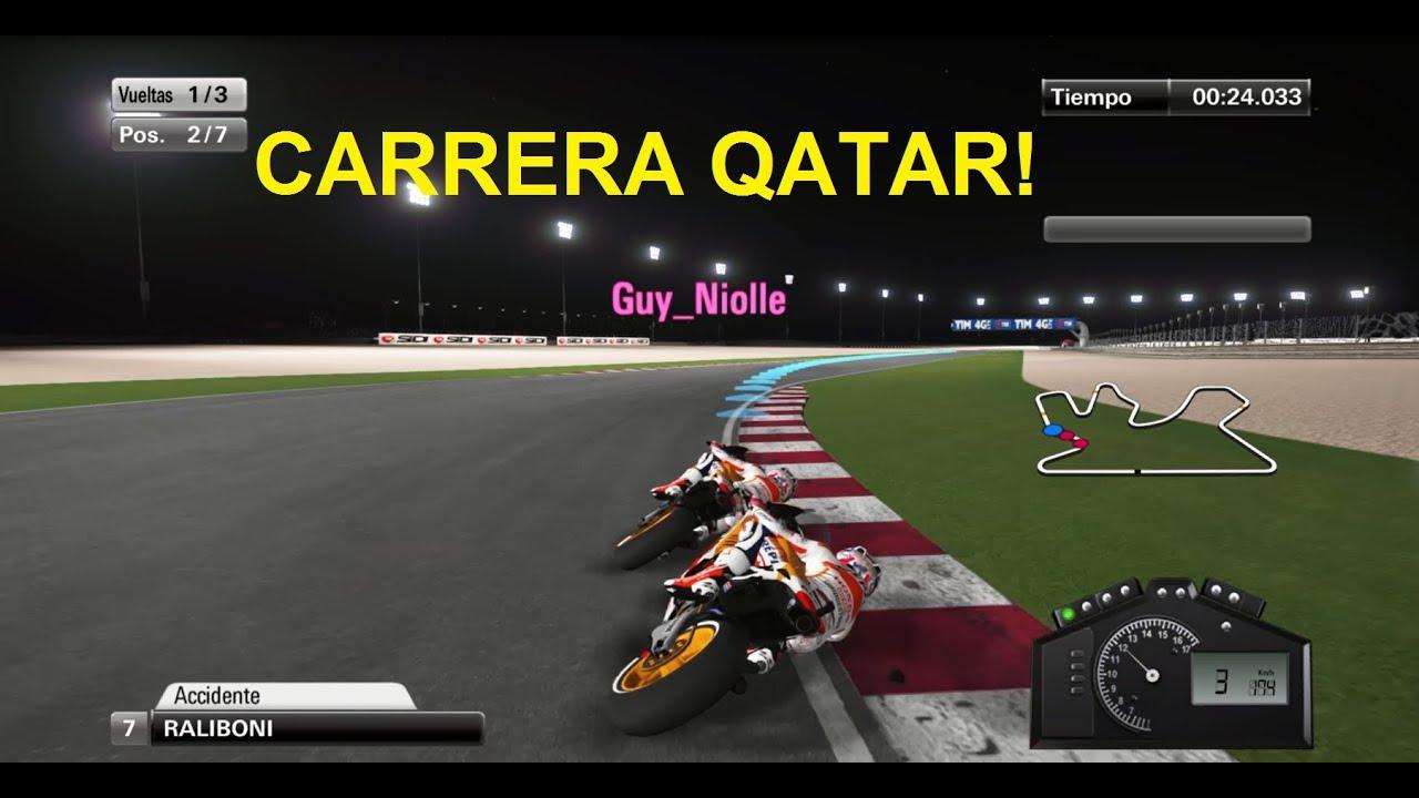 MotoGP 14 Carrera Qatar - YouTube