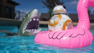 BB-8 and the Swimming Pool