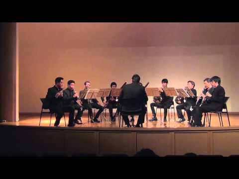 Petite Symphonie for 9 winds : Charles Gounod by Silpakorn Winds