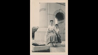 """This is a picture of my mother and me around 1948. I was 4. She wa..."