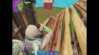 Fortnite Mobile: 24 kill Gameplay (New Skin Abstract)