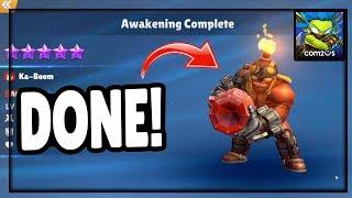 AWAKENED! Skylanders™ Ring of Heroes PvP and Awakening!