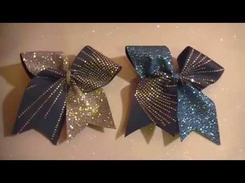 Bow Cheer Bows Making and Bling