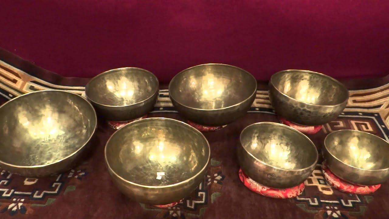 Тибетские поющие чаши Поющая чаша для медитаций Поющие чаши .