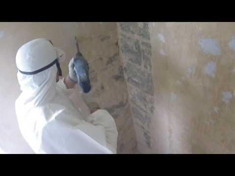 Schimmelpilz  Sanierung mit  Absaugung mittels  Luftreinigeranlage