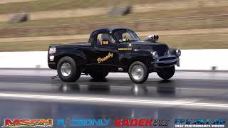 RAMSAY RACING 6CYL SUPERCHARGED FJ UTE 8.77 @ 148 MPH