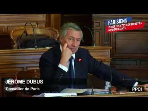 Grand Paris Express : Soutien de Jérôme Dubus au gouvernement au Conseil de Paris (22/3/18)