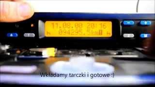 Ustawienie zegara w tachografie analogowym Siemens 1324