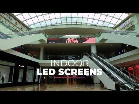 Dubai Festival City- Indoor and Outdoor screens