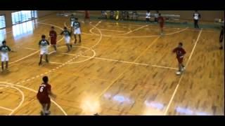 2010年度 福岡県ハンドボール インターハイ予選 準決勝 西南学院vs祐誠
