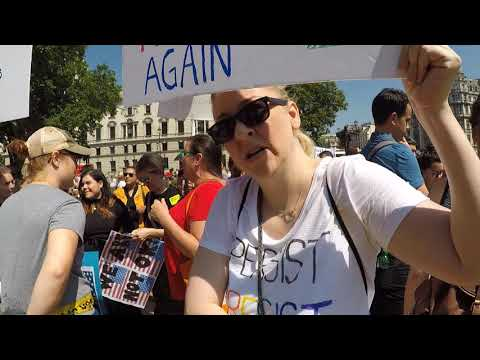 #TrumpProtest: Crowd Interviews