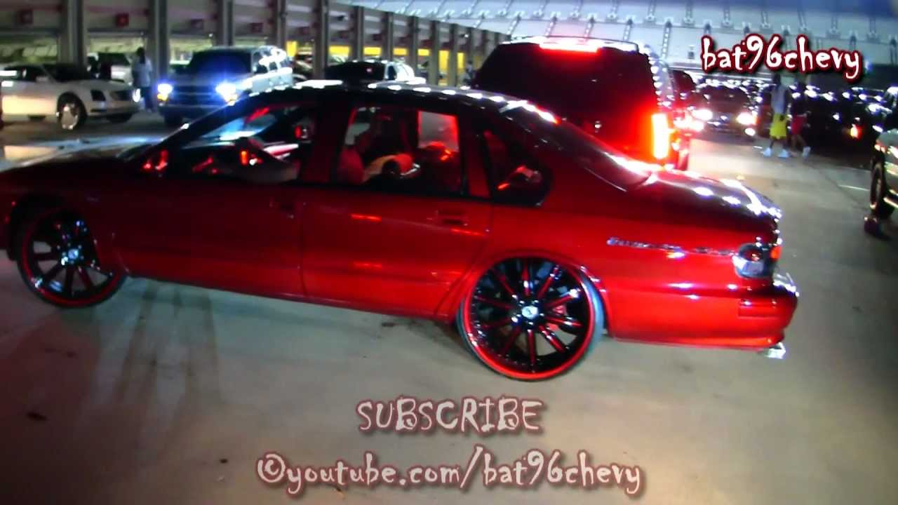 Candy Red 96 Impala Ss On 24 Quot Asantis 1080p Hd Youtube