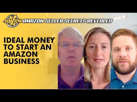 The Ideal Amount of Money to Start an Amazon Business