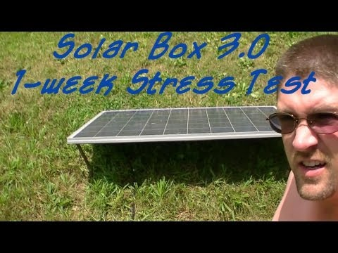 Solar Box v3.0 1-Week Stress Test