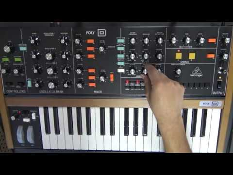 Behringer Poly D Sound Demo Part I No Talking Youtube What if there were a polyphonic minimoog? behringer poly d sound demo part i no talking