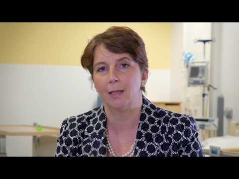 Ann James; CEO Derriford Hospital, on the Plymouth University Derriford Research Facility
