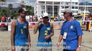 3.evropsko prvenstvo gluhih v odbojki na mivki-zadnji tekmovalni dan in zaključek