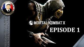 Mortal Kombat X - Mode Histoire Chapitre 1 - JOHNNY CAGE - Pc Ultra 1080p 60FPS