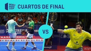 Resumen Cuartos de Final Tapia/Gadea Vs Capra/Cristián Estrella Damm Valencia Open