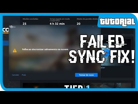 HOW TO FIX UPLAY FAILED TO SYNCHRONISE PROBLEM 2019 FIXED