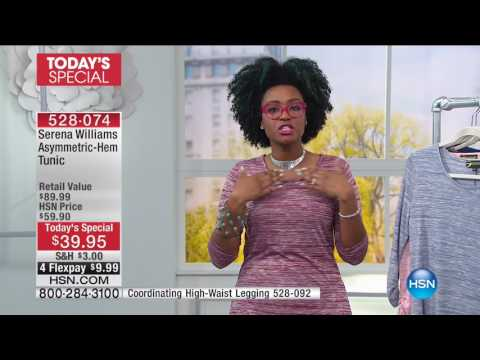 HSN | HSN Today: SERENA WILLIAMS Signture Statement Fashions 03.01.2017 - 08 AM