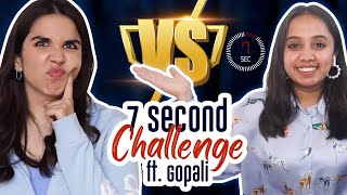 Gopali in the EPIC 7 second challenge! | Heli Ved